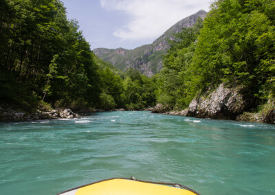 Rafting on Tara River..