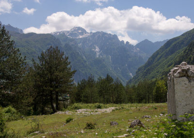 View from Theth, Albanian Alps