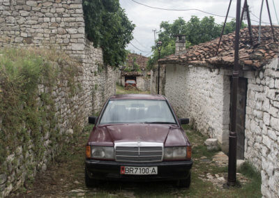 A Mercedes in Berat
