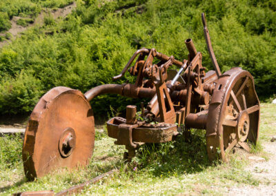 Piece of old machinery