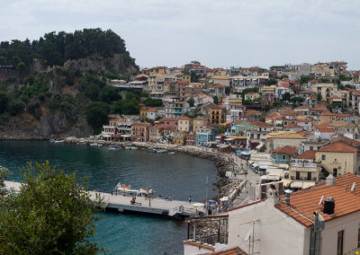 City of Parga in Western Greece