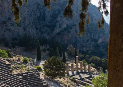Theater in Delphi