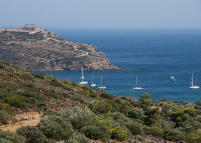 Temple of Poseidon in Sounio south of Athens
