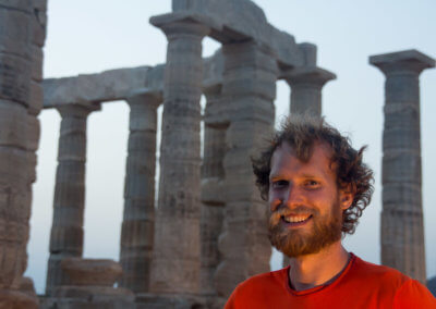 Heiner and the Temple of Poseidon