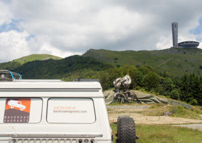 Willie, Buzludzha and the Torch Monument