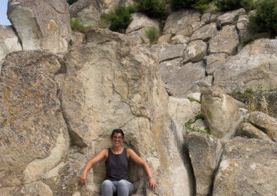 Anna climbed the throne in Perperikon