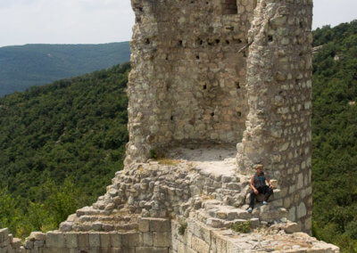 Perperikon tower