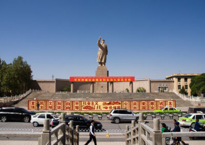 No Chinese city without a Mao statue, we suppose!