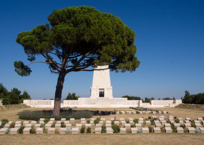 British cemetery on the Gallipolli peninsula in western Turkey
