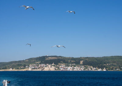 Ferry to Canakkale on the west coast