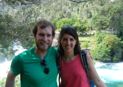 Happy in Krka national park