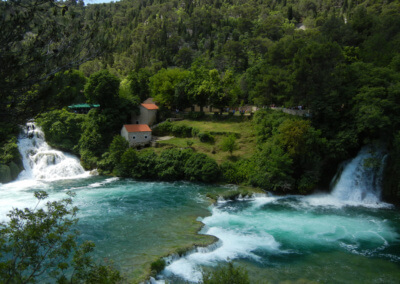 Nice view in Krka national park