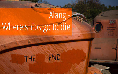 How we sneaked into Alang Ship Wrecking Plant