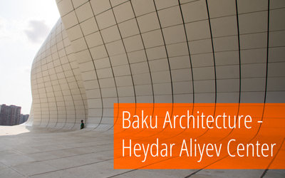 Gallery: Impressive architecture at the Heydar Aliyev Cultural Center