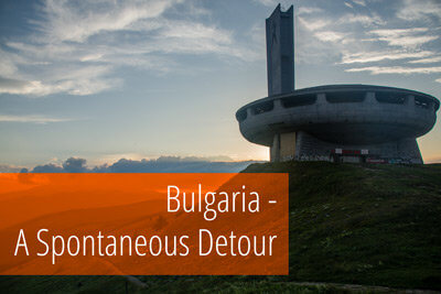 The story and pictures of our unplanned visit to Bulgaria