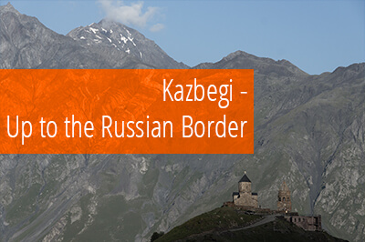 Gallery: On the Military Highway through Kazbegi