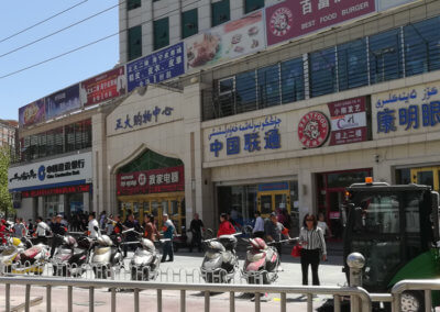 "Chinese ""exercise"" in Kashgar"
