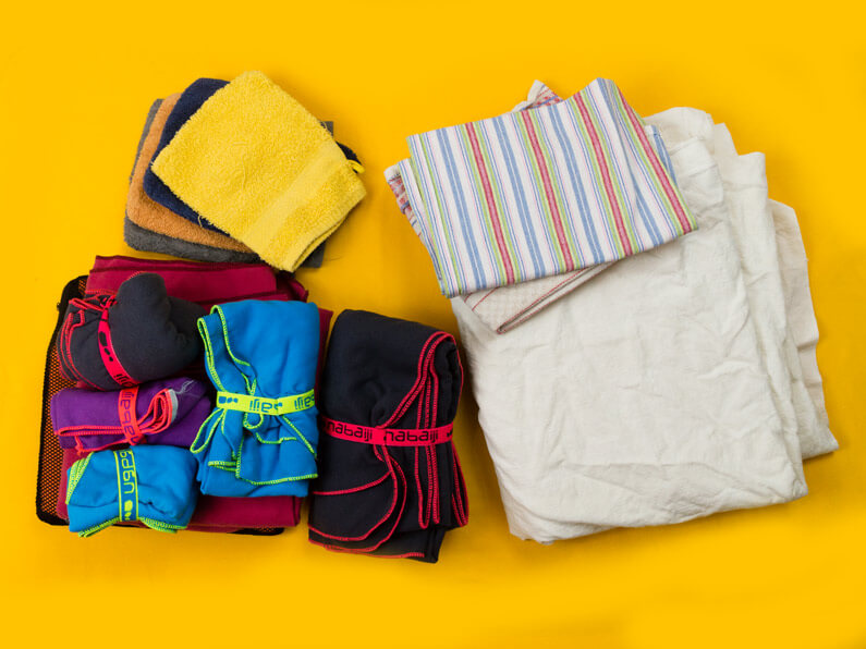 Towels and bed linen